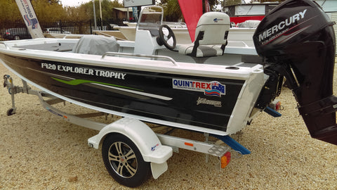 New Quintrex 420 Explorer Trophy S.C.