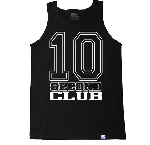 Men's 10 SECOND CLUB Tank Top