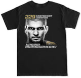Men's Khabib Nurmagomedov 229 Lightweight Champion T Shirt