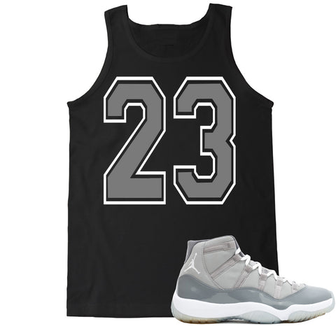 Men's 23 Cool Grey Tank Top