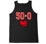 Men's 50-0 Undefeated Boxing  Tank Top