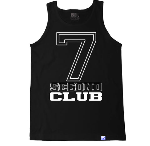 Men's 7 SECOND CLUB Tank Top