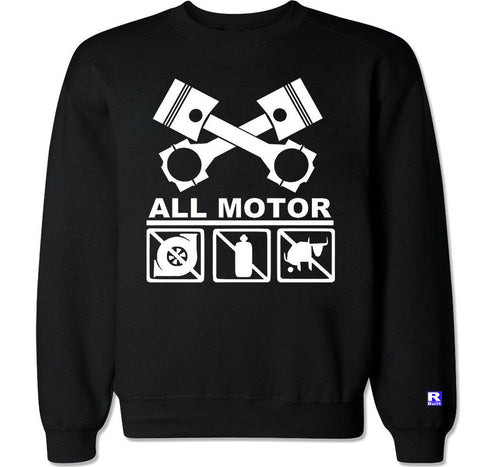 Men's ALL MOTOR Crewneck Sweater