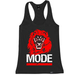 Women's LION MODE Racerback Tank Top