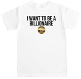 Men's Billionaire Crypto T Shirt