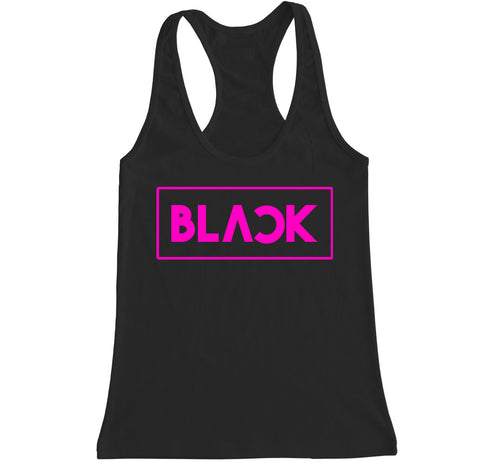Women's BLACKPINK Racerback Tank Top