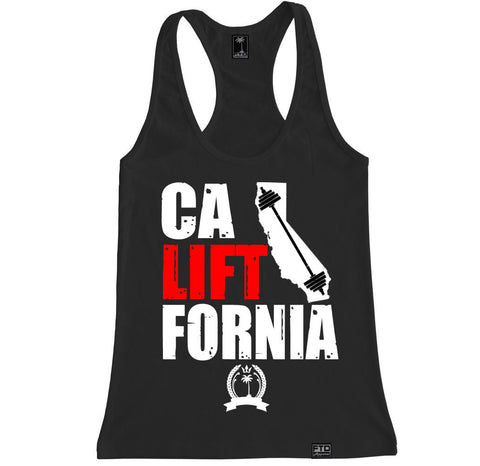 Women's CALIFTFORNIA Racerback Tank Top