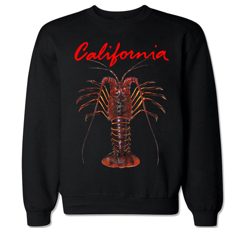 Men's CALIFORNIA SPINY LOBSTER Crewneck Sweater