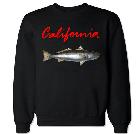Men's CALIFORNIA SEA BASS Crewneck Sweater