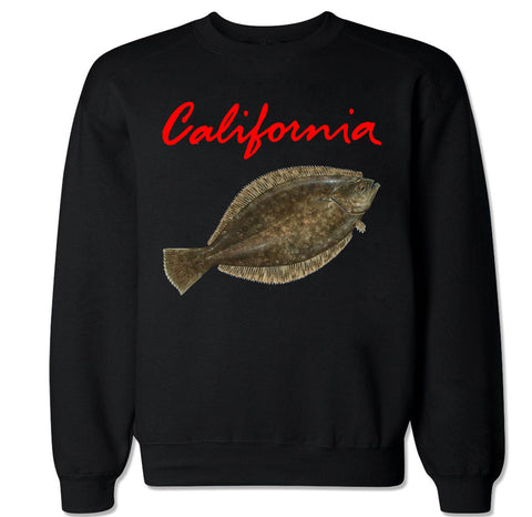 Men's CALIFORNIA HALIBUT Crewneck Sweater