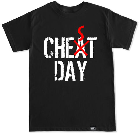 Men's CHEAT CHEST DAY T Shirt