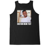Men's Nick Young Custom Meme Text Tank Top