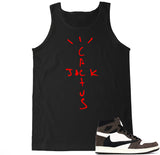 Men's Cactus Jack Travis Scott Retro 1 Tank Top