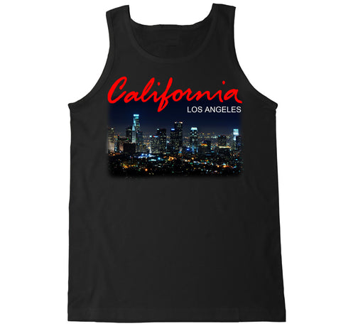 Men's California LA Los Angeles City Tank Top