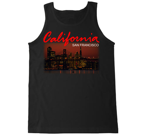 Men's California San Francisco City Tank Top
