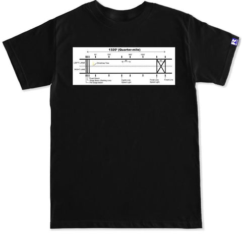 Men's DRAG RACE STRIP T Shirt