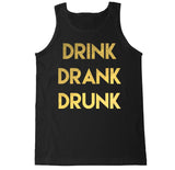 Men's DRINK DRANK DRUNK Tank Top