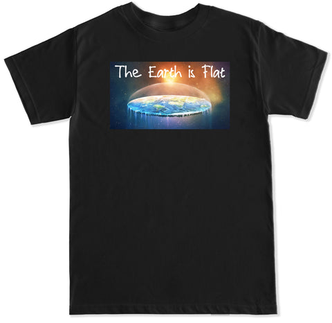 Men's The Earth is Flat T Shirt