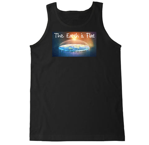 Men's The Earth is Flat Tank Top