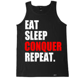 Men's EAT SLEEP CONQUER REPEAT Tank Top