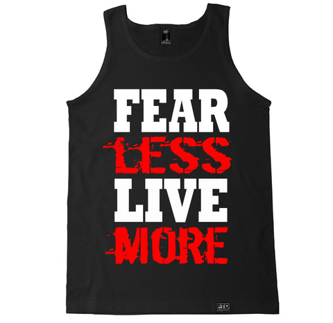 Men's FEAR LESS LIVE MORE Tank Top