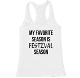 Women's Festival Season Racerback Tank Top