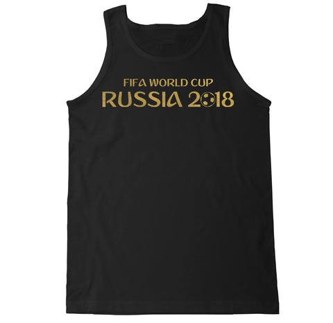 Men's Gold World Cup 2018 Tank Top