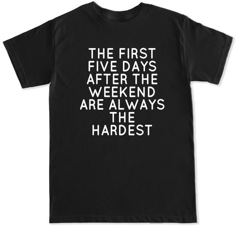 Men's FIRST FIVE DAYS T Shirt