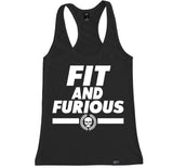 Women's FIT AND FURIOUS Racerback Tank Top