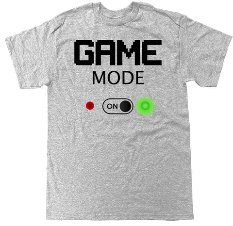 Men's Game Mode On T Shirt