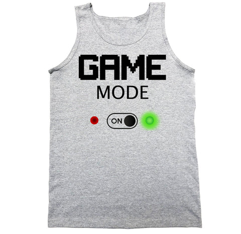 Men's Game Mode On Tank Top