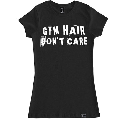 Women's GYM HAIR DON'T CARE T Shirt