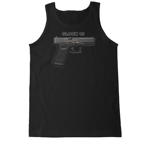 Men's Glock 19 Tank Top