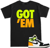 Men's Got Em Volt Gold T Shirt