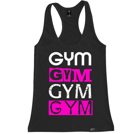 Women's GYM X 4 Racerback Tank Top