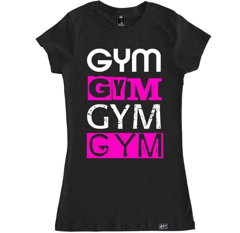 Women's GYM X 4 T Shirt