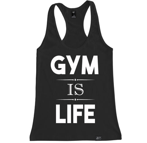 Women's GYM IS LIFE Racerback Tank Top