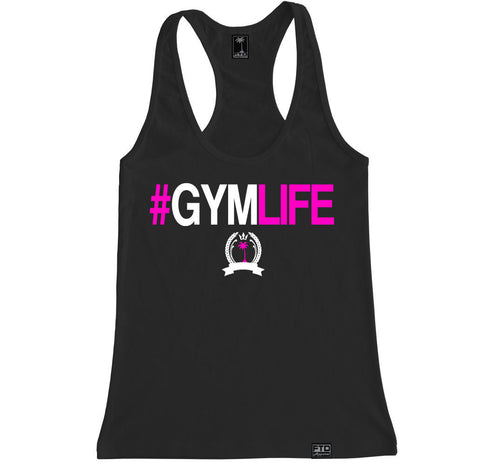 Women's #GYMLIFE Racerback Tank Top