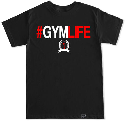 Men's #GYMLIFE T Shirt