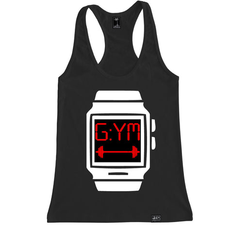 Women's GYM TIME Racerback Tank Top