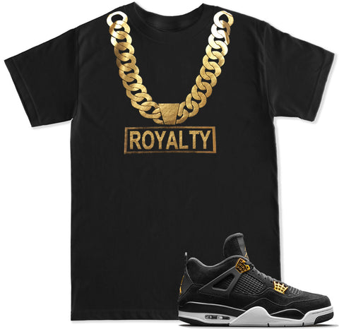 Men's Gold Chain Royalty T Shirt