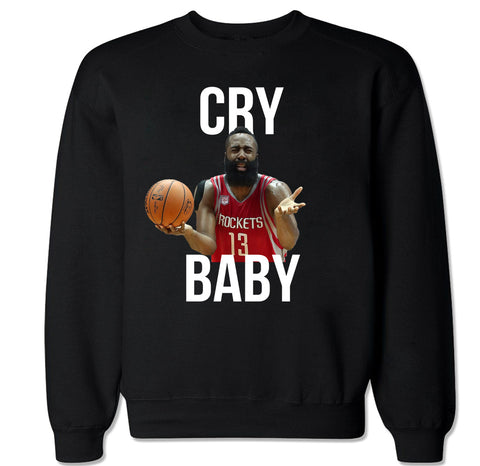 Men's Cry Baby Harden Crewneck Sweater