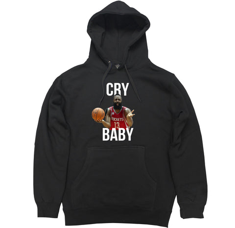 Men's Cry Baby Harden Pullover Hooded Sweater