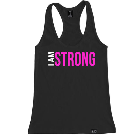 Women's I AM STRONG Racerback Tank Top