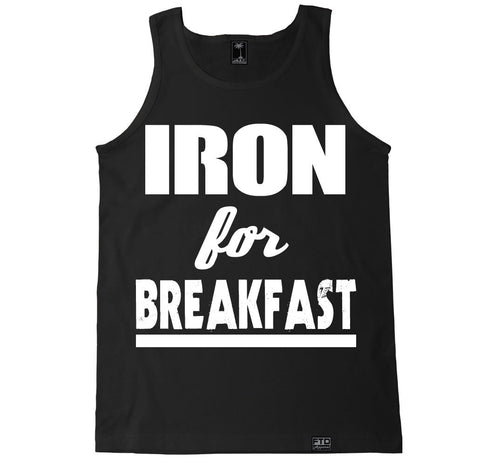 Men's IRON FOR BREAKFAST Tank Top