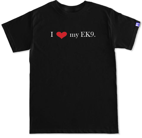 Men's I HEART MY EK9 T Shirt
