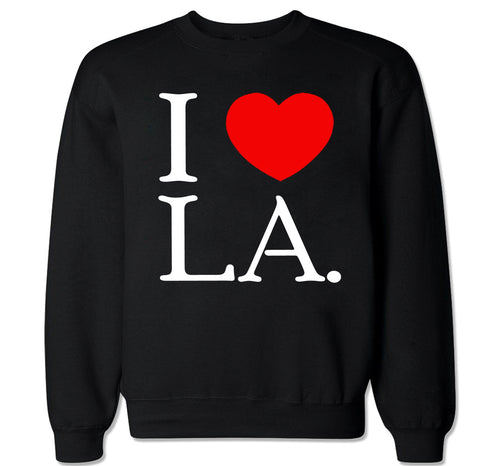 Men's I Love LA Crewneck Sweater