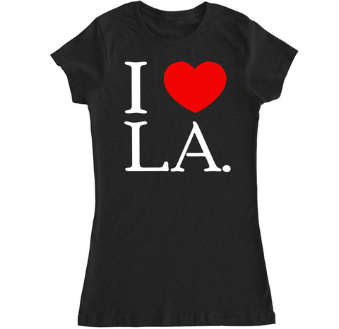 Women's I Love LA T Shirt
