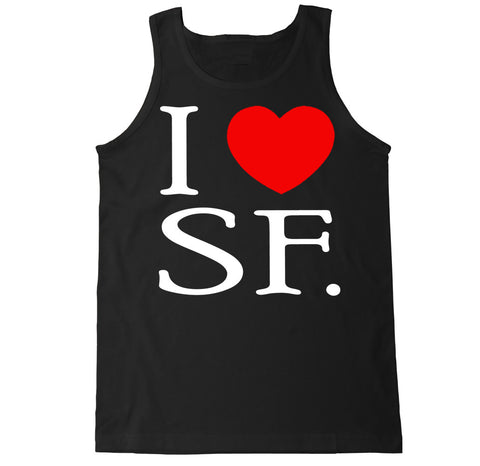 Men's I Love SF Tank Top