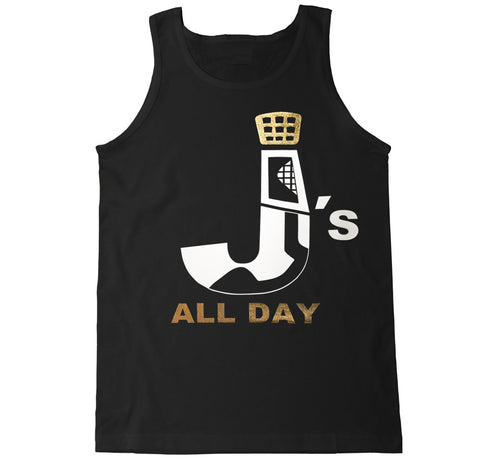 Men's Retro Js All Day Tank Top Gold